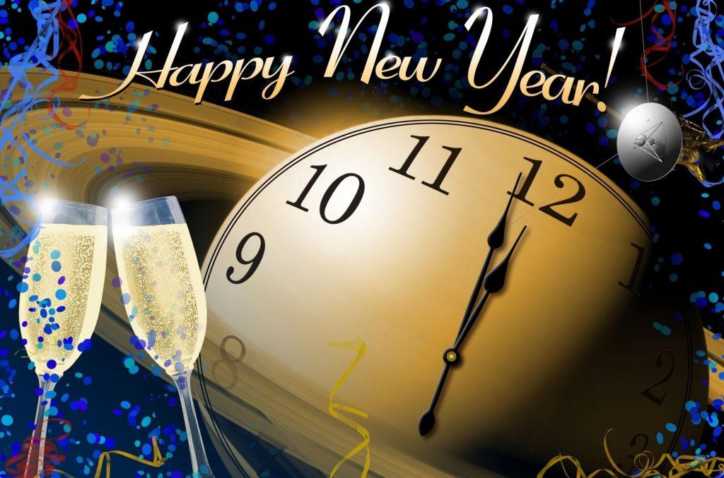happy new year klok