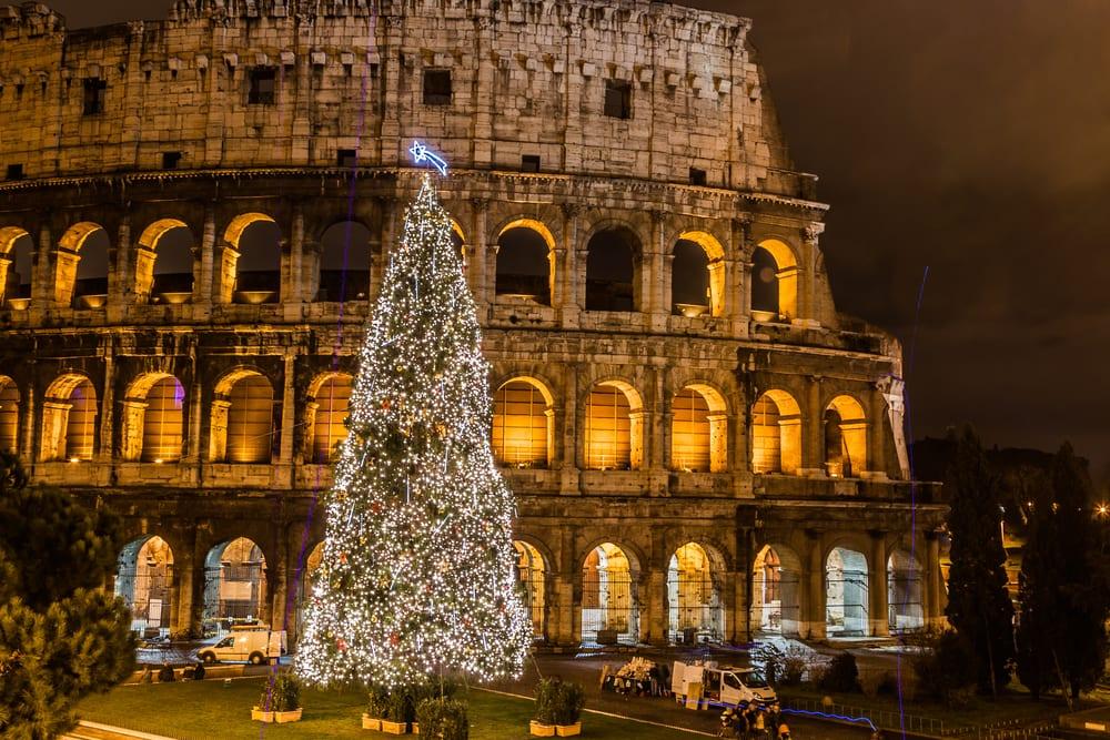 Italiaanse kerstwensen 2021 Colosseum